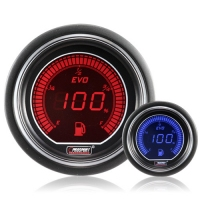 52mm Evo LCD Red / Blue Fuel Level Gauge
