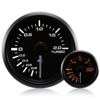 52mm Waterproof Amber/White Turbo Boost Gauge (BAR)