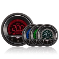 52mm Evo LCD Peak / Warning Wideband AFR Kit (With Output)