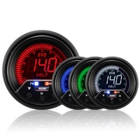 60mm Evo LCD Peak / Warning Voltage Gauge