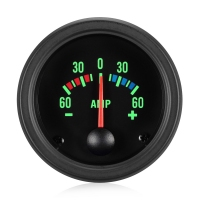 52mm Traditional Green Ammeter 60 Amp Gauge