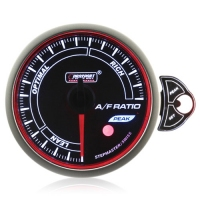 60mm Smoked Stepper Motor Touch Air/Fuel Ratio Gauge