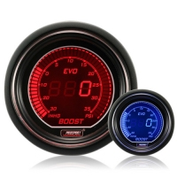 52mm Evo LCD Red / Blue Boost Gauge (Psi)