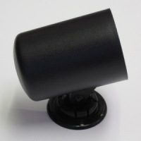 52mm Single Gauge Dash Swivel Cup (Black Plastic Finish)