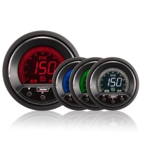 52mm Evo LCD Peak / Warning Oil Temperature Gauge