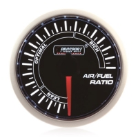 52mm Smoked Super White (Air Code) Air/Fuel Ratio Gauge