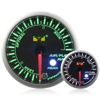 52mm Green Stepper Motor (Peak) Air/Fuel Ratio Gauge