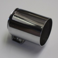52mm Single Gauge Dash Cup (Polished Chrome Finish)