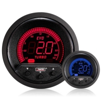 Evo 52mm Blue / Red LCD 3 Bar Electronic Boost Controller