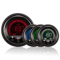 52mm Evo LCD Peak / Warning Voltage Gauge