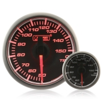 45mm Stepper Motor Clear/Amber Oil Temperature Gauge