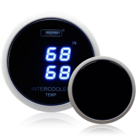 52mm Dual Blue Digital AIT (Air Intake Temp) Gauge
