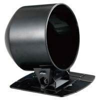 60mm Single Gauge Slimline Dash Cup (Black Plastic Finish)