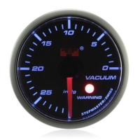 52mm Stepper Motor Super Blue (Warning) Vacuum Gauge