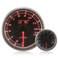 45mm Stepper Motor Clear/Amber Exhaust Temperature Gauge