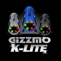 Gizzmo K-Lite Knock Monitoring Light (Black) With Sensor Kit