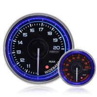 52mm Crystal Blue Peak/Warning Wideband AFR Kit