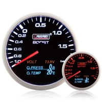 60mm 4-1 Multi Gauge - Boost, Oil Pressure, Oil Temp, Volt