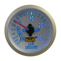 52mm Super Blue Turbo Boost Gauge (PSI)