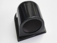 52mm Single Gauge Dash Pod (Carbon Effect)
