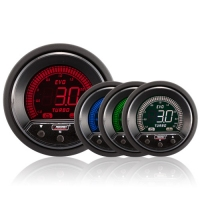 52mm Evo LCD Peak / Warning Boost Gauge (Bar)