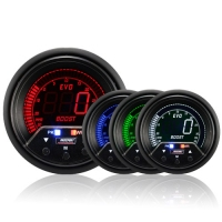 60mm Evo LCD Peak / Warning Boost Gauge (Psi)