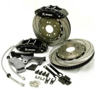 K-Sport 304mm x 28mm 6 Piston Brake Kit - FRONT