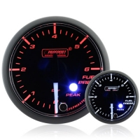 52mm Clear Lens Stepper Motor (Peak) Fuel Pressure Gauge (BAR)
