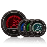 52mm Evo LCD Peak / Warning Boost Gauge (Psi)