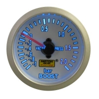52mm Super Blue Turbo Boost Gauge (BAR)