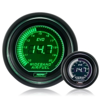 52mm Evo LCD Green / White Wideband AFR Kit (With Output)