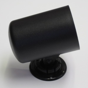 60mm Single Gauge Dash Swivel Cup (Black Plastic Finish)