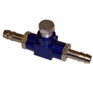 Motorsport Fuel Pressure Adaptor - Blue