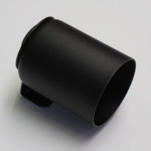 52mm Single Gauge Dash Cup (Black Metal Finish)