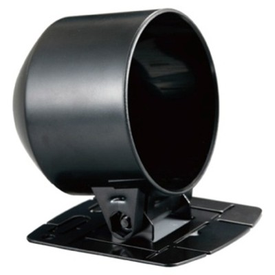 52mm Single Gauge Slimline Dash Cup (Black Plastic Finish)